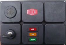 Bukh Ignition Control Panel